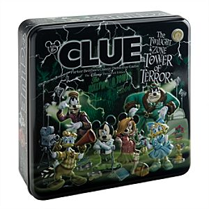 Clue® The Twilight Zone Tower of Terror™ Disney Theme Park Edition Game