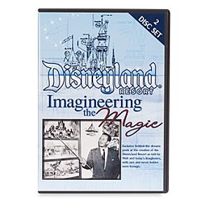 Disneyland Resort Imagineering the Magic 2-Disc DVD Set