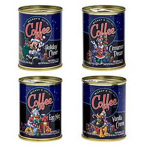 Flavored Mickey Mouse Coffee Holiday Gift Set -- 4-Pc.