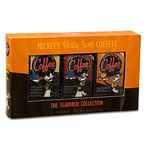 Mickey Mouse Coffee Flavored Collection Gift Set -- 3-Pc.