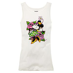 Tattoo Minnie Mouse Tank Top