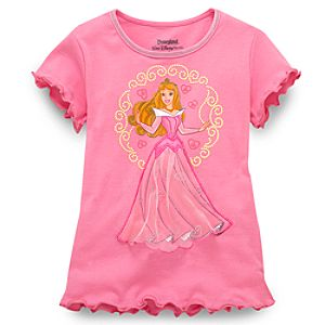 Ballgown Sleeping Beauty Tee for Girls