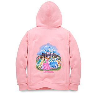Disneyland Resort Disney Princess Hooded Fleece for Girls