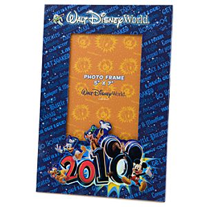 2010 Walt Disney World&reg Resort Photo Frame - 5 x 7