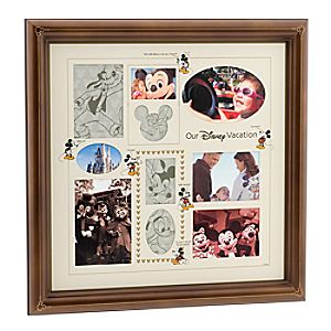 Our Disney Vacation Collage Photo Frame