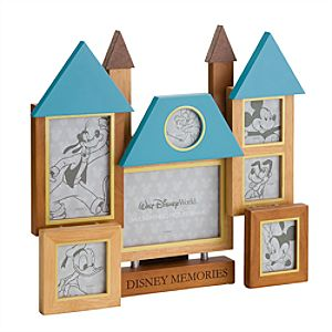 Walt Disney World Resort Cinderella Castle Collage Photo Frame