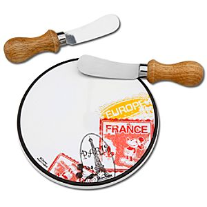 Mickey Mouse Cheese Serving Set -- 3-Pc.