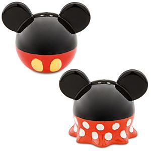 Best of Mickey and Minnie Mouse Salt and Pepper Shaker Set