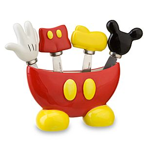 Best of Mickey Mouse Spreader Set -- 5-Pc.
