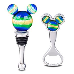 Mickey Mouse Bottle Stopper and Opener Set -- 2-Pc.