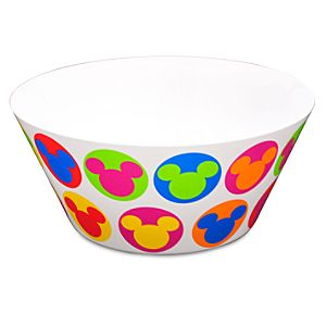 Pop Art Mickey Mouse Serving Bowl