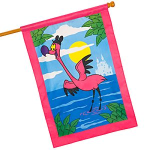 Flamingo Fantasia Garden Flag