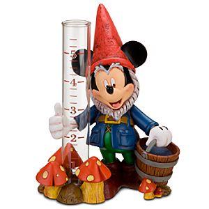 Mickey Mouse Garden Gnome Rain Gauge
