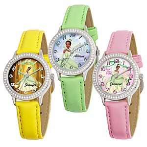 Create-Your-Own Princess Tiana Watch for Girls