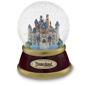 Disneyland Resort Sleeping Beauty Castle Snowglobe