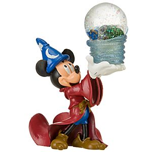 Four Parks Disney World Resort Mickey Mouse Mini-Snowglobe