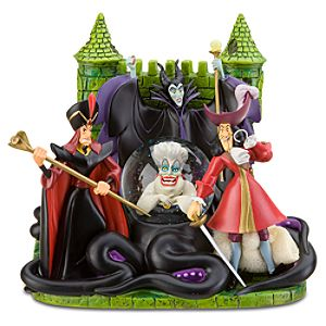 Disney Villains Snowglobe