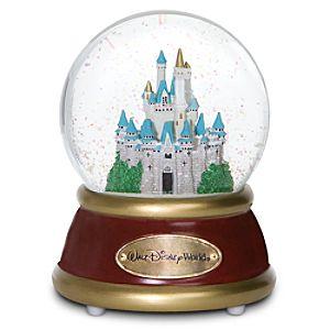 Walt Disney World Resort Cinderella Castle Snow Globe