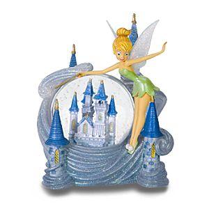 Tinker Bell at Cinderella Castle Snowglobe