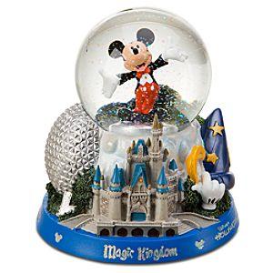 Walt Disney World Resort Icons Mickey Mouse Snow Globe