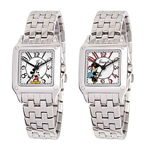 Customized Square Steel Watch for Women