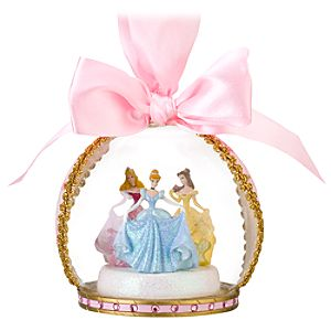 Glass Ball Disney Princess Ornament