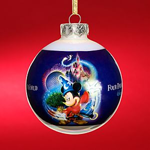 Four Parks, One World Walt Disney World Resort Holiday Ornament
