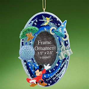 Four Parks, One World Walt Disney World Resort Ornament Frame