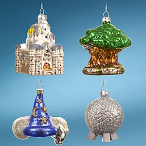 Four Parks, One World Walt Disney Worldreg;Resort Icon Ornaments -- 4-Pc. Set