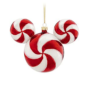 Peppermint Twist Mickey Mouse Ornament