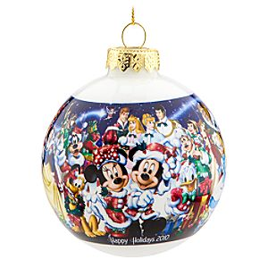 2010 Disney Parks Holiday Ornament