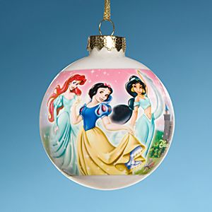 Disney Princess Holiday Ornament