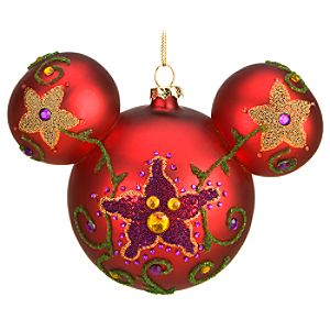 Beaded Mickey Mouse Ornament -- 6