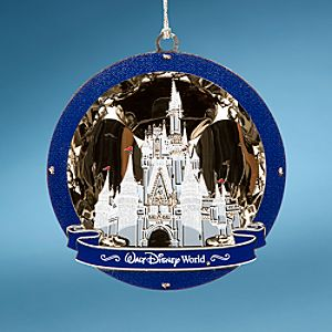Walt Disney World Resort Cinderella Castle Ornament by Baldwin®
