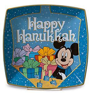Mickey Mouse Hanukkah Plate