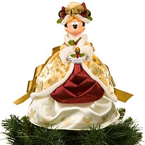 Victorian Minnie Mouse Tree Topper