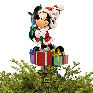Santa Mickey Mouse Tree Topper