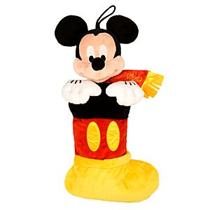 Mickey Mouse Plush Stocking