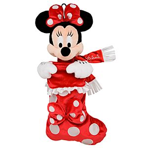Minnie Mouse Plush Stocking