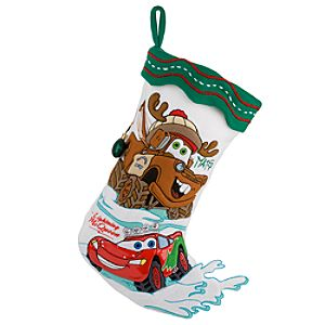 Cars Holiday Stocking