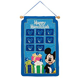 Mickey Mouse Hanukkah Wall Hanging