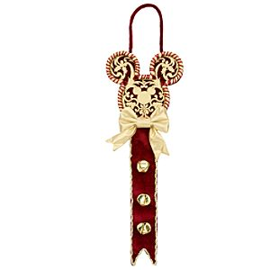 Victorian Mickey Mouse Holiday Doorhanger