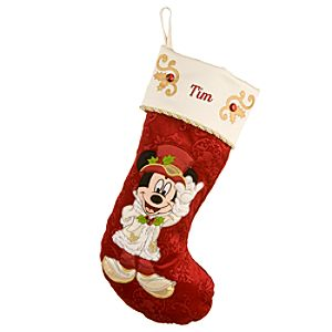 Victorian Mickey Mouse Holiday Stocking