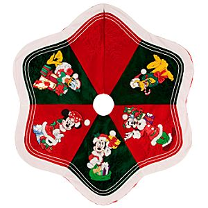 Mickey and Pals Tree Skirt - Personalizable