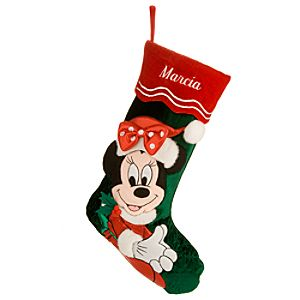 Minnie Mouse Stocking - Personalizable