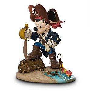 Pirates of the Caribbean Mickey Mouse Big Figure