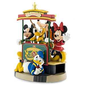 Main Street U.S.A. Trolley Mickey Mouse Big Figure