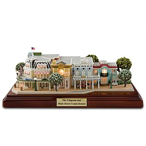 Walt Disney World Resort The Chapeau and Main Street Confectionery Miniature by Olszewski