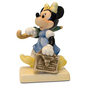 Merry Wanderer Minnie Mouse Figurine by Goebel