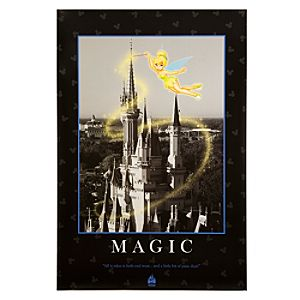 Magic Tinker Bell at Walt Disney World Resort Poster -- Petite Print Size